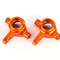 Traxxas TRA6837A  Orange Aluminum Steering Blocks (L&R) (2) Slash Stampede 4x4 XO-1