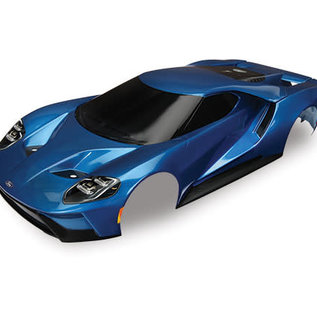 Traxxas TRA8311A  Blue Ford GT Pre-Painted Body