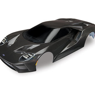 Traxxas TRA8311X  Black Ford GT Pre-Painted Body