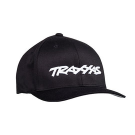 Traxxas TRA1188-BLK-LXL  Traxxas Logo Flexfit Hat  Black Large / Extra Large