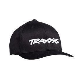 Traxxas TRA1188-BLK-SM  Traxxas Logo Flexfit Hat Black Small / Medium