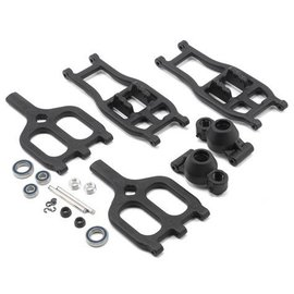 RPM R/C Products RPM80942  T-Maxx & E-Maxx True-Track Rear A-Arm Conversion (Black)