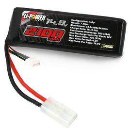 Venom Racing VNR15004  4S 1P 2100 mAh 20C Lipo Battery Pack for Starter Box