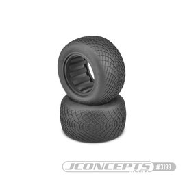"J Concepts JCO3199-03  Ellipse 2.2"" 1/10 Stadium Truck Tires (2) (Aqua)"