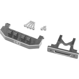 HOT RACING HRASXTF3201  Aluminum Rear Body Mount Support for Axial SCX24