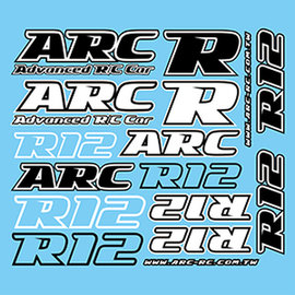 ARC R1290002  ARC R12 Decal