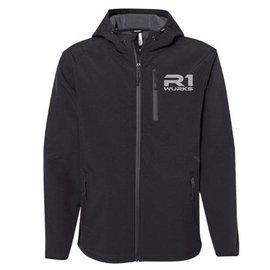 R1wurks R1-090020  R1 WURKS Black Premium Water Resistant Jacket XXL