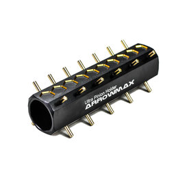 Arrowmax AM-180006-V2  Ultra Pinion Holder 15T~42T (48DP) / 21T~48T (64DP) Black Golden
