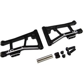 HOT RACING HRATRF5601 Aluminum Rear Lower Arms for 4-Tec 2.0