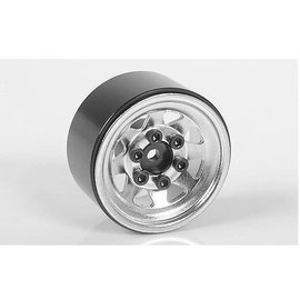 "RC4WD RC4ZW0263  Chrome Stamped Steel 1.0"" Stock Beadlock Wheels"
