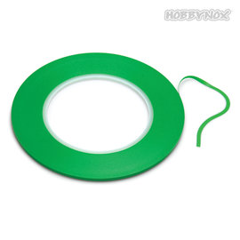 HobbyNox HN303055  Fineline Tape Soft Green (3mm x 55 Meters)