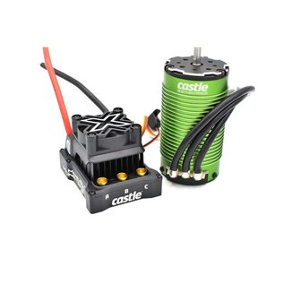 Castle Creations CSE010-0165-02  1/6 Mamba Monster X 8S 33.6V WP ESC with 1717-1650Kv Motor Combo
