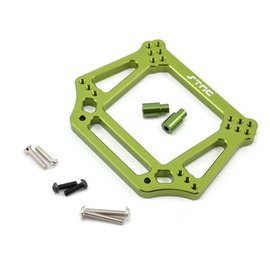 STRC SPTST3639G  Green Aluminum 6mm Heavy Duty Front Shock Tower