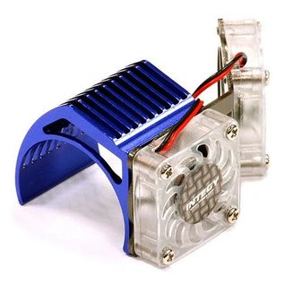 Integy 2961BLUE  Blue Twin Motor Cooling Fan + Heatsink 540/550