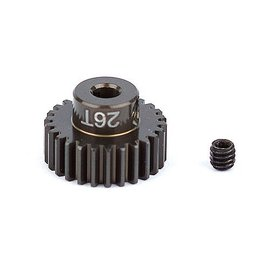 Team Associated ASC1344 FT Aluminum Pinion Gear, 26T 48P, 1/8 shaft