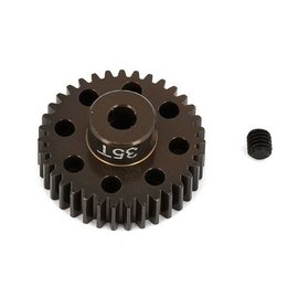 Team Associated ASC1353 FT Aluminum Pinion Gear, 35T 48P, 1/8 shaft