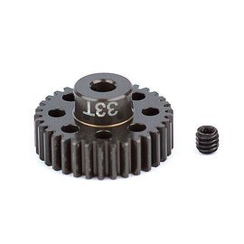 Team Associated ASC1351 FT Aluminum Pinion Gear, 33T 48P, 1/8 shaft