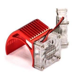 Integy 2961RED  Red Twin Motor Cooling Fan + Heatsink 540/550