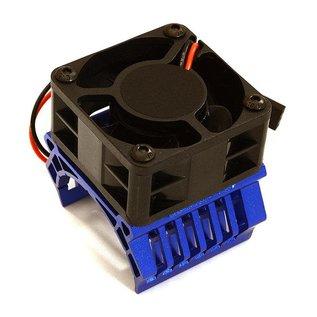 Integy C28597BLUE  36mm Motor Heatsink+40x40mm Cooling Fan