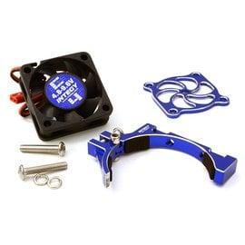 Integy C26776BLUE  Blue 30x30x10mm High Speed Cooling Fan+Clamp Type Mount
