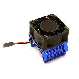 Integy C28598BLUE  Blue 36mm Motor Heatsink+40x40mm Cooling Fan
