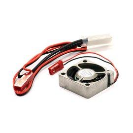 Integy C23675  Temperature Control Type Metal Case Cooling Fan 30x30x10mm