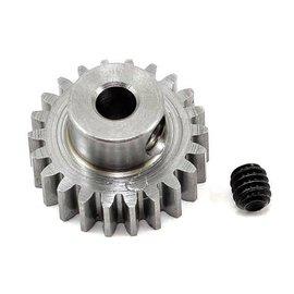 "Robinson Racing RRP1122  .6 MOD 22T Metric Steel Alloy Pinion Gear, 1/8"" Bore"