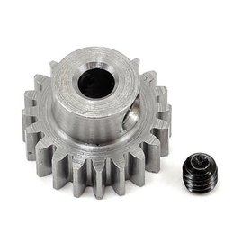 "Robinson Racing RRP1120  .6 MOD 20T Metric Steel Alloy Pinion Gear, 1/8"" Bore"