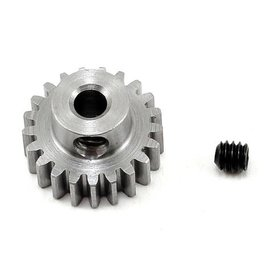 "Robinson Racing RRP1121  .6 MOD 21T Metric Steel Alloy Pinion Gear, 1/8"" Bore"