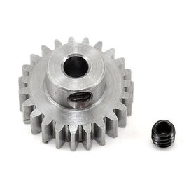 "Robinson Racing RRP1123  .6 MOD 23T Metric Steel Alloy Pinion Gear, 1/8"" Bore"