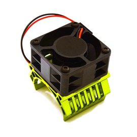 Integy C28597GREEN  Green 36mm Motor Heatsink+40x40mm Cooling Fan