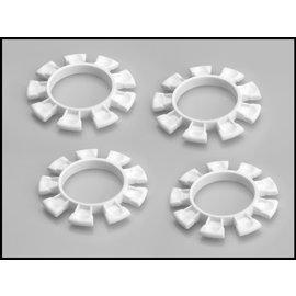 J Concepts JCO2212-3  White Satellite Tire Gluing Rubber Bands 2212-3