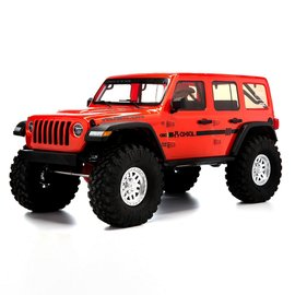 Axial Racing AXI03003T2  Orange 1/10 SCX10 III Jeep JLU Wrangler with Portals RTR
