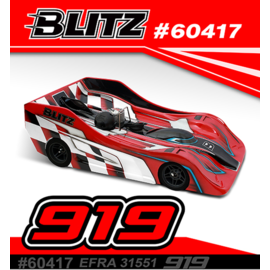 BLITZ 60417-07  Blitz 919 0.7mm Standard Version EFRA Homolgated