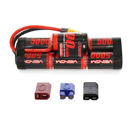 Venom Racing VNR1548-7 8.4V  5000mAh NiMH Hump Pack Battery with UNI 2.0 Plug