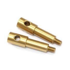 RocheRC USA 310060  Front Inline Axle (7075 Aluminium), (2)