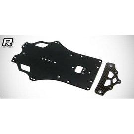 RocheRC USA 210185  Rapide P12 EVO SWB 2.0mm Aluminum Main Chassis