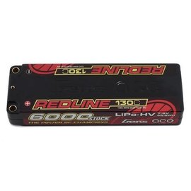Gens Ace GEA60002S13L5  Gens Ace Redline 2S 7.4v 6000mAh 130C LiPo w/ 5mm Bullets