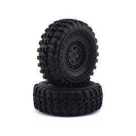 Panda Hobby PANBC636046  Tetra X1 Premounted Wheels & Tires (2)