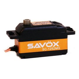 Savox SAVSC1252MG Low Profile Digital Servo Super Speed .07/97.2 @ 6.0V