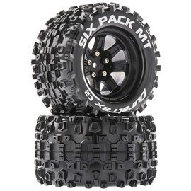 Duratrax DTXC5256  Six Pack MT 14mm Hex 2.8 Mounted Tires