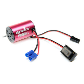 Dynamite DYNS0501  Brushless Motor/ESC 2-in-1 Combo, 6000Kv: Mini-T 2.0
