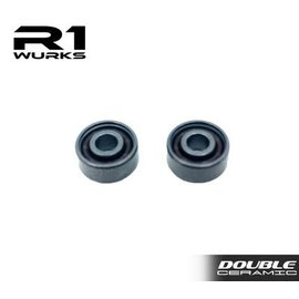 R1wurks R1-020021 Double Ceramic Coated Bearing W/ Si3N4 Balls (2)