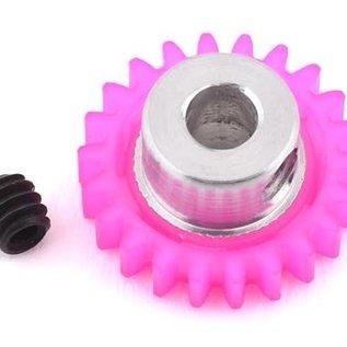 175RC 175-10022  22T Pink Polypro Hybrid 48P Pinion Gear (3.17mm Bore)