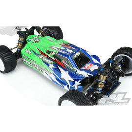 J Concepts PRO3543-25  Axis Light Weight Clear Buggy Body, for AE B74