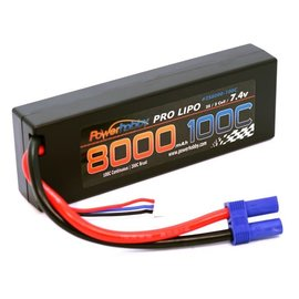 Power Hobby PHB2S8000100CEC5  2S 7.4V 8000MAH 100c (200c burst) Lipo Battery w/ EC5 Plug