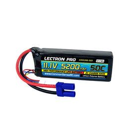 Lectron Pro 3S5200-505  Lectron Pro 3S 11.1v 5200mAh 50C LiPo w/ EC5 Plug