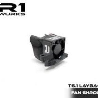 R1wurks R1-060010  R1 T6.1 Layback Fan Shroud