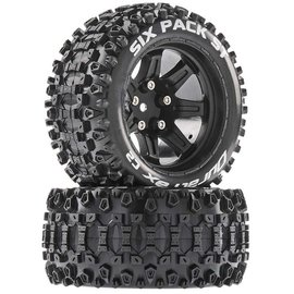 Duratrax DTXC5206  Six-Pack ST 14mm Hex 2.8 Mounted Tires (2)