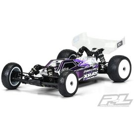 Proline Racing PRO3555-25  XRAY XB2 Axis Body (Clear) (Light Weight)